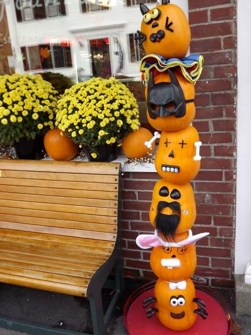 Pumpkins can wear masks, too.