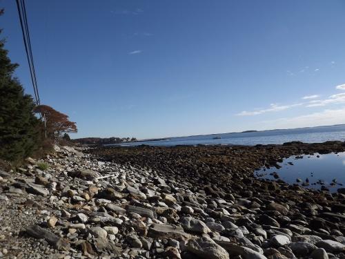 The Rachel Carson Salt Pond Preserve:  looking north.